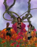 Flower Fairies Royalty Free Stock Photos