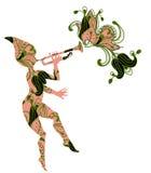 Flower Fairy Royalty Free Stock Photos