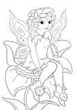 Flower fairy Stock Photos