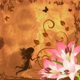 Flower fantasy fairy Stock Image