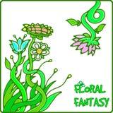 Flower fantasy Stock Image