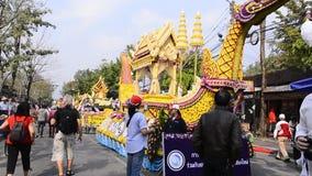 Flower Festival. stock video