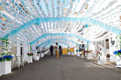 Flower Festival (festas do povo, Campo Maior 2015, Portugal) Stock Photography