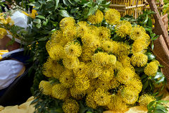 Flower festival in funchal Royalty Free Stock Photography