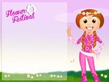 Flower festival Royalty Free Stock Image