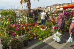 Flower Festival La Ciotat stock photography