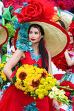 Flower Festival on the Madeira Island, Portugal Stock Photo