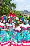 Flower Festival on the Madeira Island, Portugal. Stock Photos