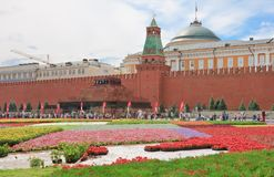Flower Festival in Red Square. Moscow Royalty Free Stock Image