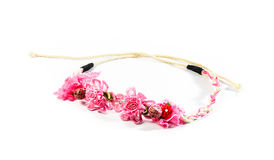 Flower fillet hair  and small rope  Royalty Free Stock Photography