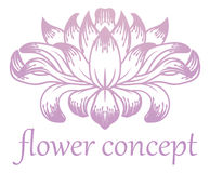 Flower Floral Abstract Concept Icon Stock Photo