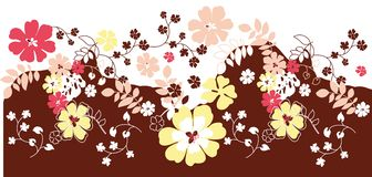 Flower Floral background Stock Photography