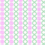 Flower floral cover tile fabric pattern background vector illustration design Abstract wallpaper Royalty Free Stock Photography