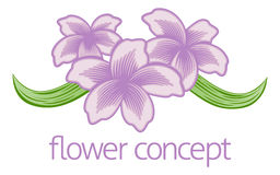 Flower Floral Florist Icon Stock Photography