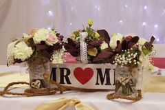 Flower, Flower Arranging, Floristry, Centrepiece royalty free stock photography