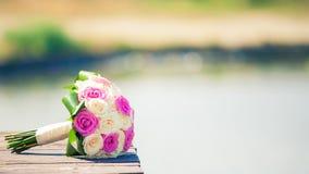 Brides Bouquet. Fower garden macro nature rose stock photos