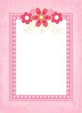 Flower frame. Vector illustration of flower frame for special occasions Stock Images