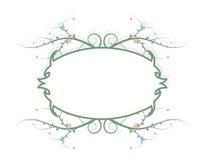 Flower frame stock illustration