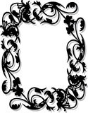 Flower Frame. Work with vectors,illustrator Royalty Free Stock Photo