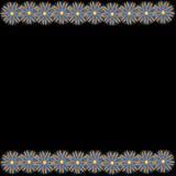 Flower of frame. Flower frame of wallpaper on background Royalty Free Stock Photography