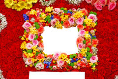 Free Flower Frame Royalty Free Stock Photography - 27871247