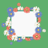 Flower frame Royalty Free Stock Photography
