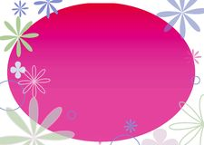 Flower frame. Flowers Stock Illustration
