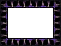 Flower frame 4 Royalty Free Stock Photography