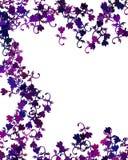 Flower Frame. A digitally made flower background Stock Illustration