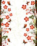 Flower frame Stock Photos