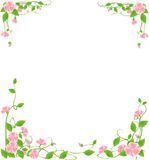 Flower frame vector illustration