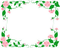 Flower frame stock illustration