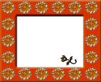 Flower frame Stock Images