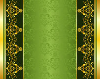 Flower frame background Stock Image