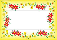 Flower Frame Royalty Free Stock Images