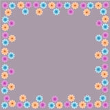 Flower frame floral border pattern weave beautiful Royalty Free Stock Photography