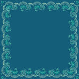 Flower frame pattern Royalty Free Stock Photography