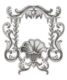 Flower frame vector Stock Photos