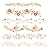 Flower frames Stock Photography