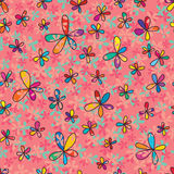 flower full seamless pattern Stock Photography