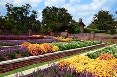 Flower Garden. In southern Georgia plantation Royalty Free Stock Image