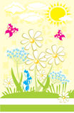 Flower Garden Stock Images