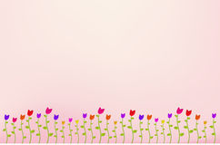 Flower Garden Background Royalty Free Stock Image
