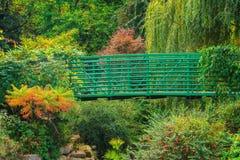Flower Garden Bridge Stock Image