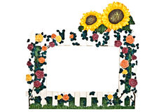 A Flower Garden Frame Stock Images
