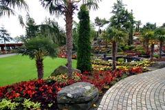 Flower Garden Island Royalty Free Stock Photo