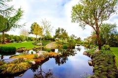 Flower garden island Stock Photography