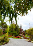 Flower garden island Royalty Free Stock Images
