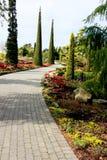 Flower garden island Stock Photo