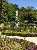 Flower garden at Masandra Palace, Crimea peninsula Stock Photography
